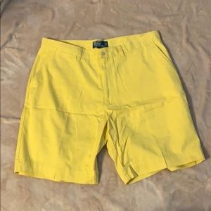 YELLOW POLO by RL Shorts